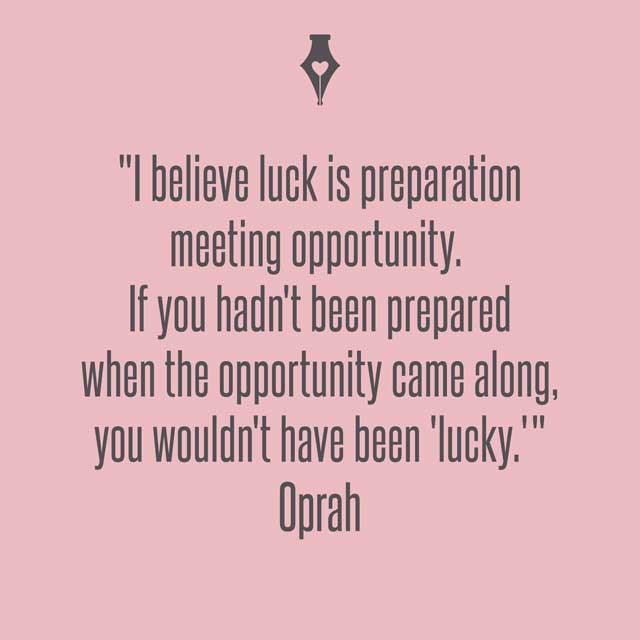 luck is when preparedness meets opportunity To all who needs it  may good luck be your friend in whatever you do and may trouble be always a stranger to you wish me luck :.