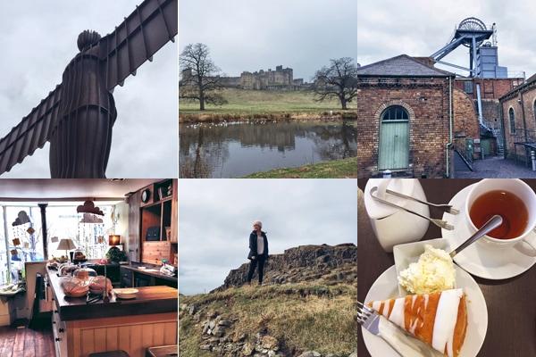 Alnwick, Harry Potter Castle, Lindisfarne, Bari Tea