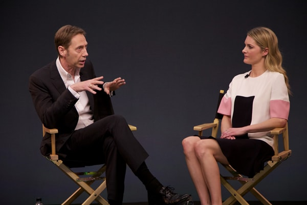 Nick Knight with Kinvara Balfour for Apple's Fashion In Conversation