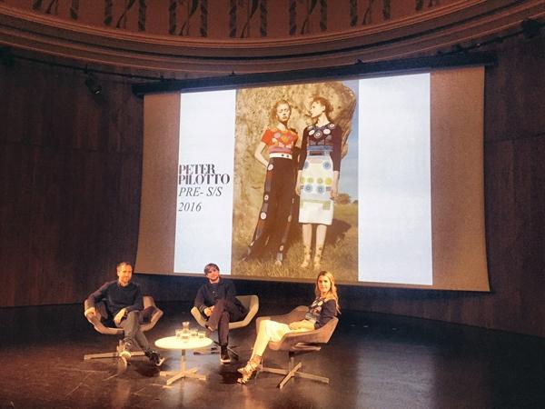 Peter Pilotto, Christopher De Vos with Kinvara Balfour