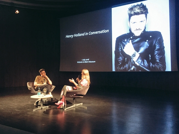 Henry Holland in conversation with Kinvara Balfour