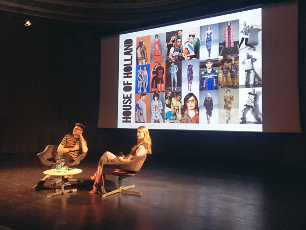 Henry Holland in conversation with Kinvara Balfour at Victoria and Albert Museum London