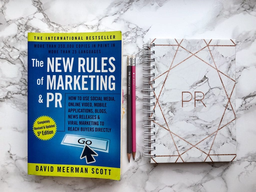 David Meerman Scott New Rules of PR & Marketing