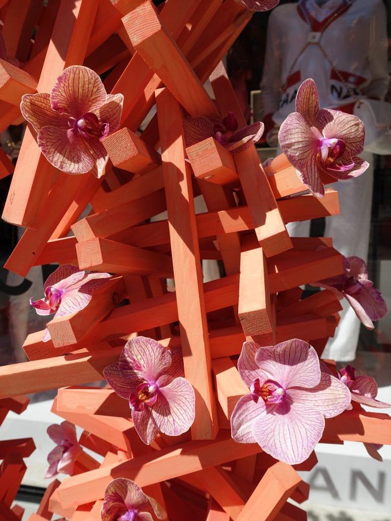 Best floral shop displays at Chelsea in Bloom 2019